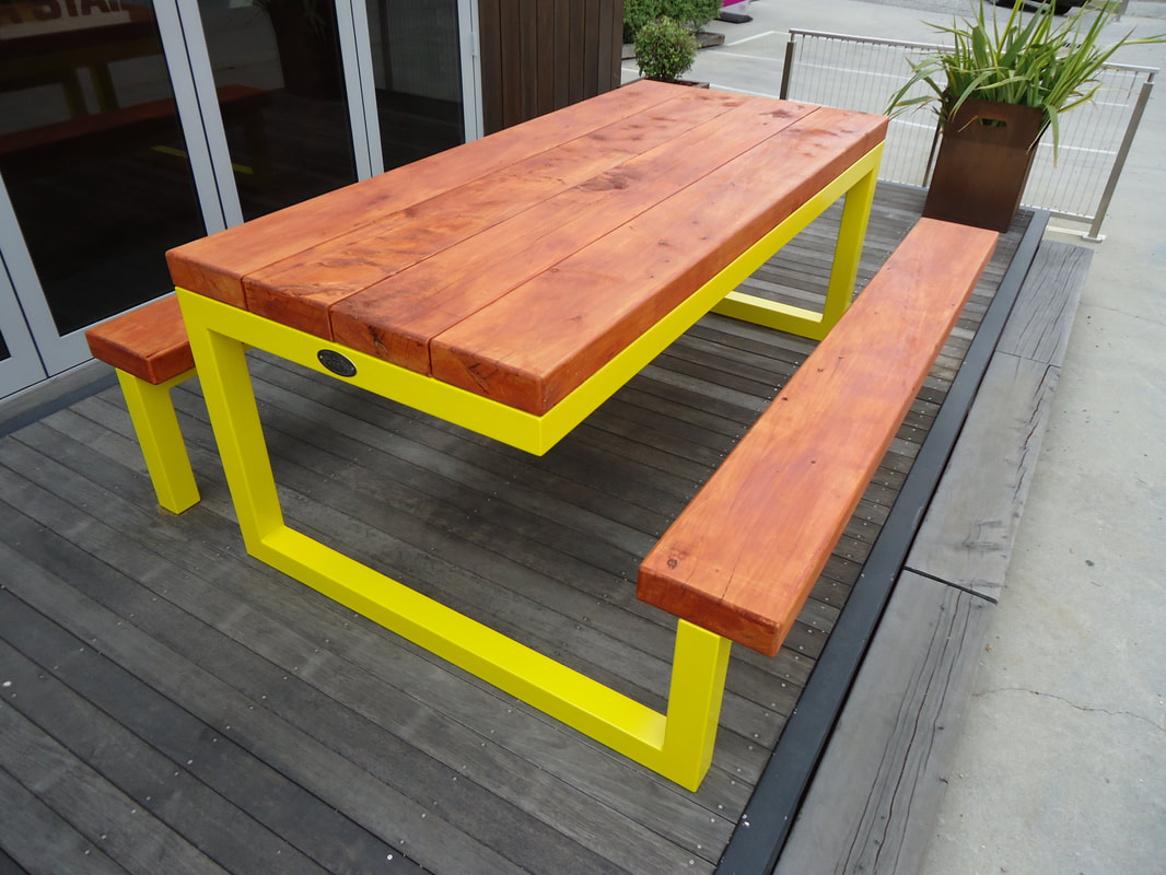 Original Outdoor Table Yellow