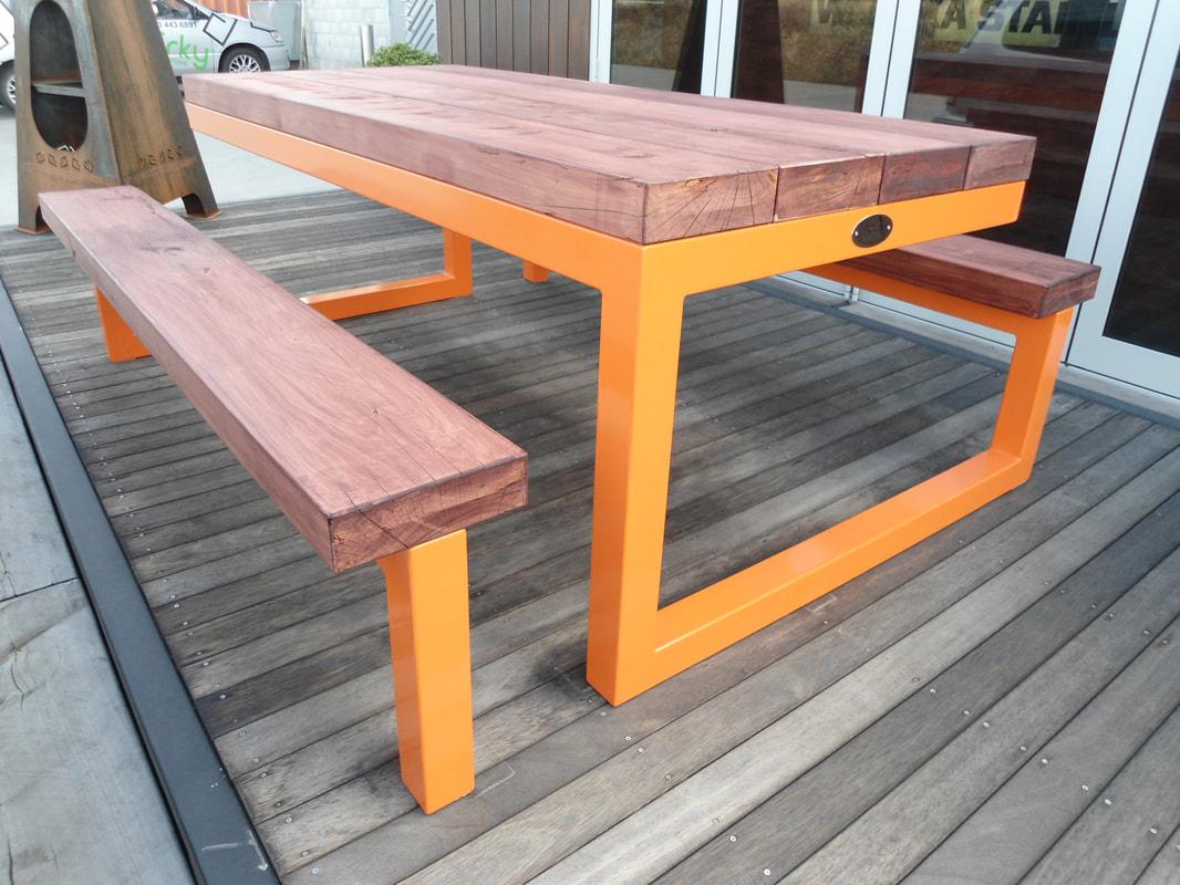 Outdoor Table Orange